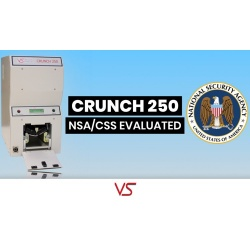 Crunch 250 HDD Destroyer